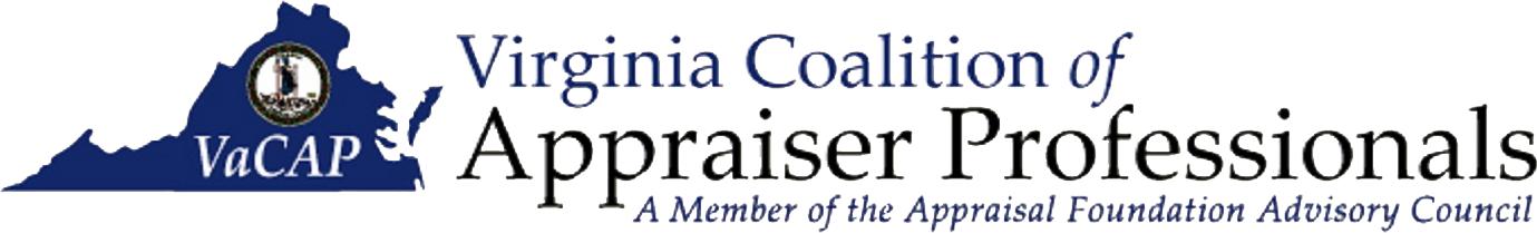 VaCAP – Virginia Coalition of Appraiser Professionals